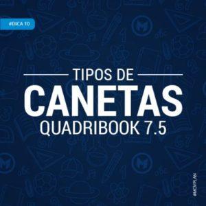 Dica 10 | Tipos de Canetas do QuadriBook