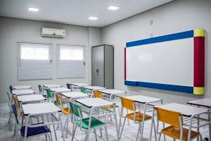 lousa branca para sala de aula
