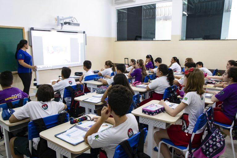 Lousa digital tecnologia em sala de aula