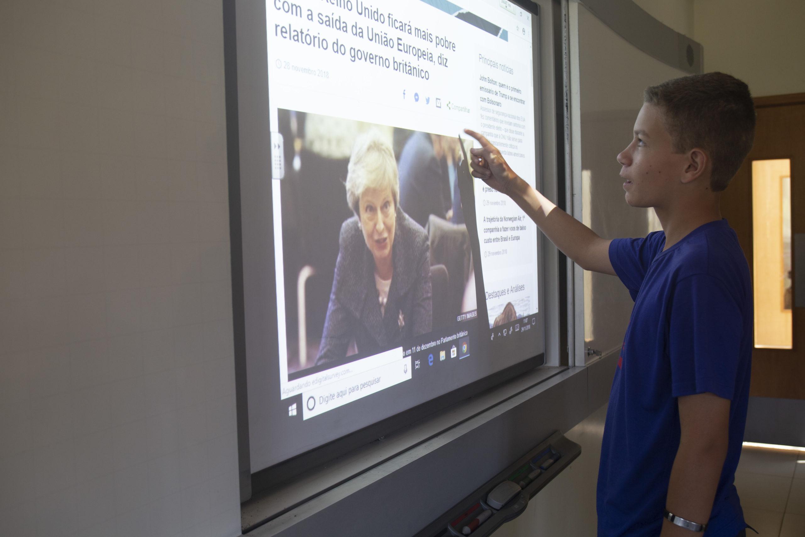lousa digital para video aula