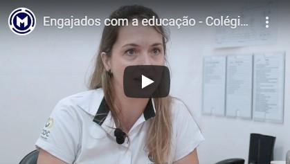 engajados com a educação