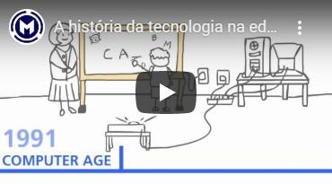 a historia da tecnologia na educacao