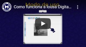 como funciona a lousa digital