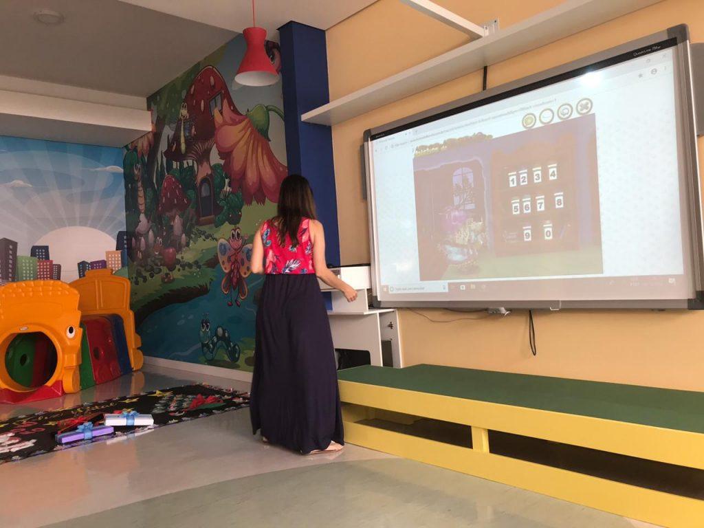 lousa digital ensino híbrido